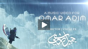OMAR ADIM | RAINING MUSIC VIDEO