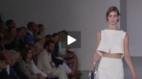 MILAN FASHION WEEK JIL SANDER SPRING SUMMER 2014 FASHION SHOW #MFW