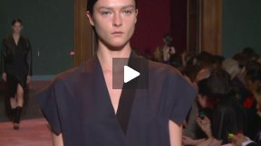 PARIS FASHION WEEK CEDRIC CHARLIER SPRING SUMMER 2014 FASHION SHOW #PFW