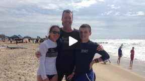 Hanging Ten with Dustin Sweeney: A Surfers Healing Autistic Surfer