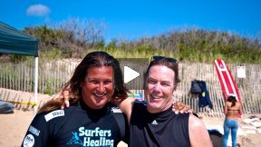 A Montage of Autistic Surfers in Montauk, New York: Surfers Healing and Izzy Paskowitz