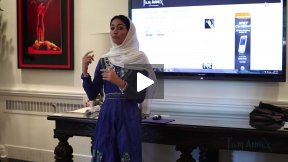 Fereshteh Forough on Digital Literacy and Digital Citizenship in Afghanistan, AGFAF at Lawrenceville School