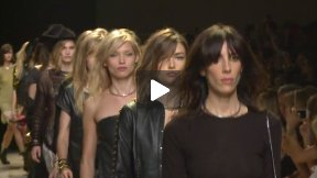 PARIS FASHION WEEK ZADIG & VOLTAIRE SPRING SUMMER 2014 FASHION SHOW #PFW