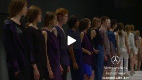 MERCEDES-BENZ FASHION WEEK BERLIN VLADIMIR KARALEEV SPRING SUMMER 2014 FASHION SHOW #MBFWB