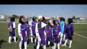 Female Football and Sports in Afghanistan, Women's Annex Esteqlal Training in Kabul