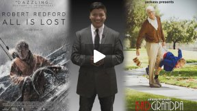 """Jackass Presents: Bad Grandpa"" and ""All is Lost"" Movie Reviews"