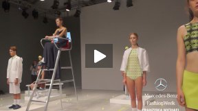 MERCEDES-BENZ FASHION WEEK BERLIN FRANZISKA MICHAEL SPRING SUMMER 2014 FASHION SHOW #MBFWB