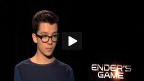 """Ender Wiggin Speaks! Asa Butterfield Talks About """"Ender's Game"""""""