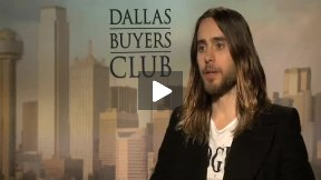 """Jared Leto Interview for """"Dallas Buyers Club"""""""
