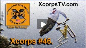 Xcorps Action Sports TV #46.) SNOWBIKE-2 seg.1