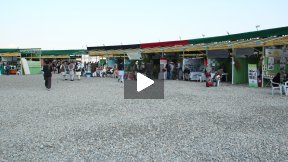 Badam bagh exhibition of Agricultural products in Kabul, Afghanistan