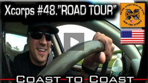Xcorps Action Sports TV #48.) ROAD TOUR 1 seg.1