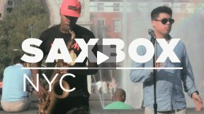 Saxbox (NYC) By: Spencer Beatbox and Herve Alexandre