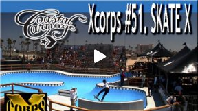 Xcorps Action Sports TV #51.) SKATE X seg.1