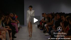 MERCEDES-BENZ FASHION WEEK BERLIN EP_ANOUI BY EVA POLESCHINSKI SPRING SUMMER 2014 FASHION SHOW #MBFWB