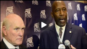 James Worthy and Terry Bradshaw at Buoniconti Fund Gala with Pblcty's Ryan David Saniuk