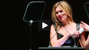 2013 British Fashion Awards - Kate Moss British Fashion Council Special Recognition Award