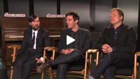 """Saving Mr. Banks"" Interviews – Jason Schwartzman, Bradley Whitford, B.J. Novak"