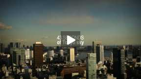 POSTCARDS OF JAPAN - 43 SECONDS OF TOKYO SKY