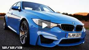 2014 BMW M3/M4 (again), 8-Speed Corvette, Jaguar XS, Gov't Motors No More, & FLDQoftheD