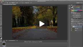 How to apply dramatic effect to your photo in photoshop