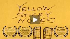Yellow Sticky Notes HD