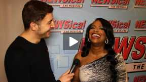 #InTheLab at Newsical the Musical with Kandi Burruss