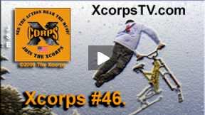 Xcorps Action Sports TV #46.) SNOWBIKE-2 seg.4
