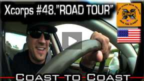 Xcorps Action Sports TV #48.) ROAD TOUR-1 seg.4