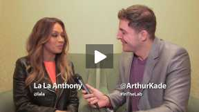 #InTheLab w La La Anthony