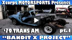 Xcorps Motorsports Bandit X project - Dropoff