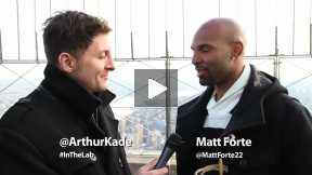 #InTheLab w Chicago Bears' Matt Forte