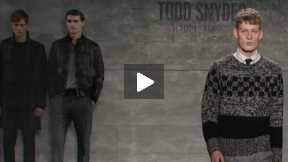THE TODD SNYDER MERCEDES-BENZ FASHION WEEK NYC AUTUMN/WINTER 2014 FASHION SHOW #MBFW A/W14