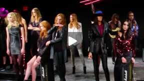THE JAY GODFREY MERCEDES-BENZ FASHION WEEK NYC AUTUMN/WINTER 2014 FASHION SHOW #MBFW A/W14
