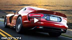 SRT Viper News, Audi RS4 Avant Nogaro, New BMW X3, Tesla Model S AWD, Rapid Fire News!