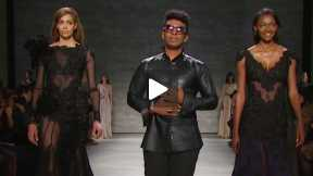 THE DAVID TLALE MERCEDES-BENZ FASHION WEEK NYC AUTUMN/WINTER 2014 FASHION SHOW #MBFW A/W14