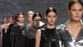 THE MATHIEU MIRANO MERCEDES-BENZ FASHION WEEK NYC AUTUMN/WINTER 2014 FASHION SHOW #MBFW A/W14