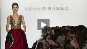 THE DENNIS BASSO MERCEDES-BENZ FASHION WEEK NYC AUTUMN/WINTER 2014 FASHION SHOW #MBFW A/W14