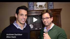 Pblcty's Ryan David Saniuk  bumps into Andrew Gachkar