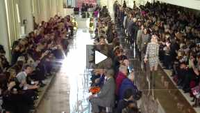 THE TORY BURCH MERCEDES-BENZ FASHION WEEK NYC AUTUMN/WINTER 2014 FASHION SHOW #MBFW A/W14