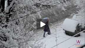 Snow in Kabul