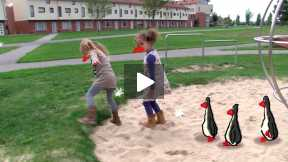 Outside - Penguins and Gnomes