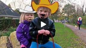 Outside - Cowboy and Princess