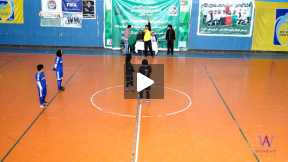 Futsal female football game Omed Esteqlal VS Doste