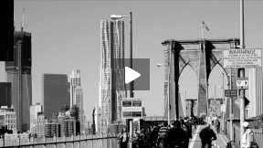 New York City B-Roll for Models WebTV Production ~ THE BROOKLYN BRIDGE