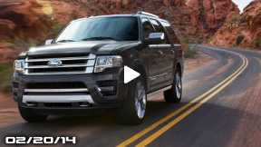 New Ford Expedition, Holden Commodore Plans, Next BMW X1, New Chrysler Minivans, & FLDQoftheD!