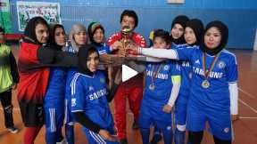 Futsal Game - Omid Esteqlal female team VS Afghan clup female team