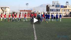Friendly Football Game between Esteqlal and khatam-an-biya