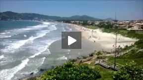 Garopaba's Beach View TimeLapse