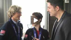 #InTheLab w Olympic Gold Medalist Ice Dancers Meryl Davis & Charlie White